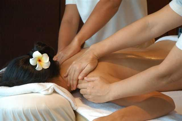 4 hand massage happy ending vdeio